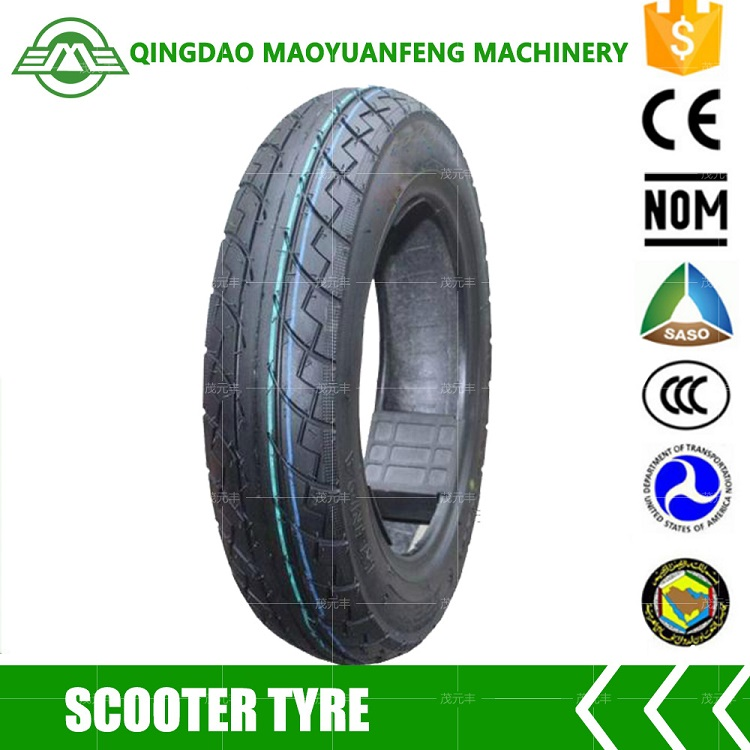 Low price 3.00-10 motorcycle tire for scooters tricycles