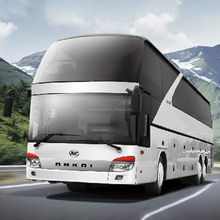 Factory direct sell 3 axles luxury long distance transportation coach bus