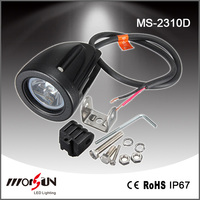 "2.2"" CR EE Flood or Spot Beam Safety Bule Led Warning Lights IP67 Auto Lamp 12V 24V 10W Led Work Light"