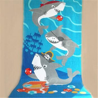 Wholesale 100% cotton custom made beach towels