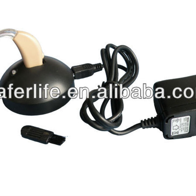2013 Mini Size Amplifier listening Deaf high level rechargeable analog BTE Hearing Aid Devices