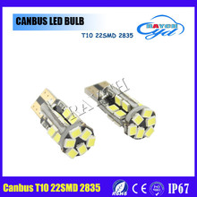 New 12 volt automotive led lights / canbus 12v / 2835 led T10 W5W 194 501 canbus led light error free indicate car