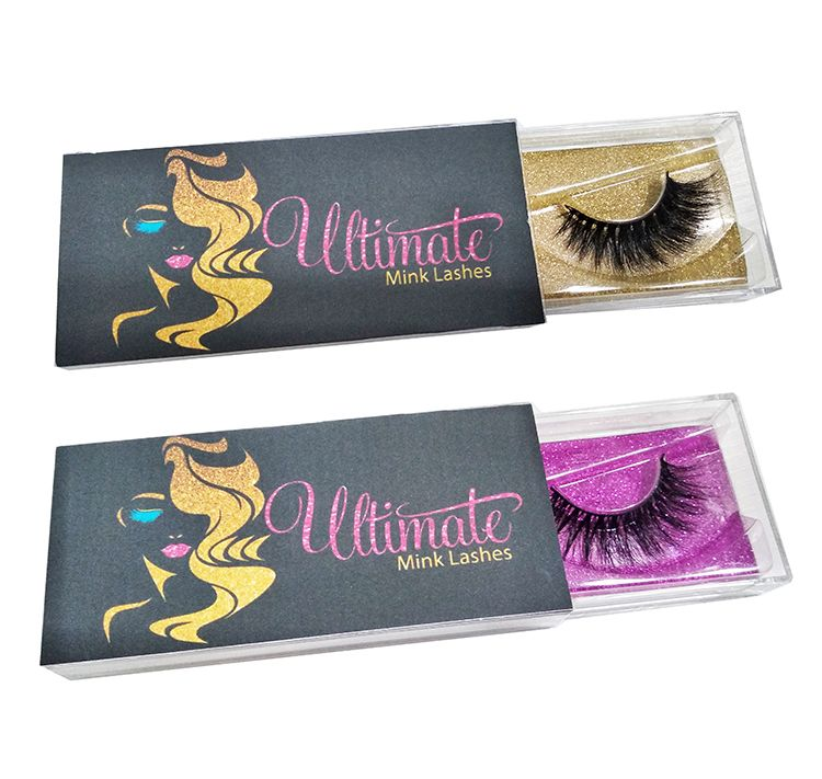 Factory sale 3d mink eyelashes more thicker D series custom private label 25mm mink lahes