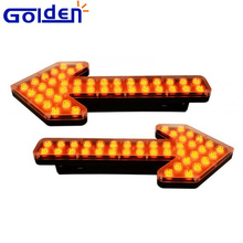 LED road construction safety traffic arrow lights