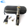 2018 new products airflow atomizer 18w e cigarette with 1100mah/2200mah battery capacity
