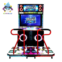 Popular coin operated amusement simulator pump it up music dancing arcade video game machine