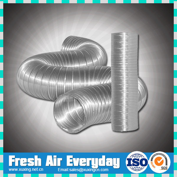 Air Conditioning Flexible Duct : Hvac high temperature resistant aluminum flexible air duct