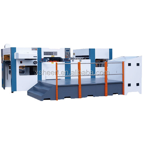 Automatic Foil Stamping and Die Cuttting Machine