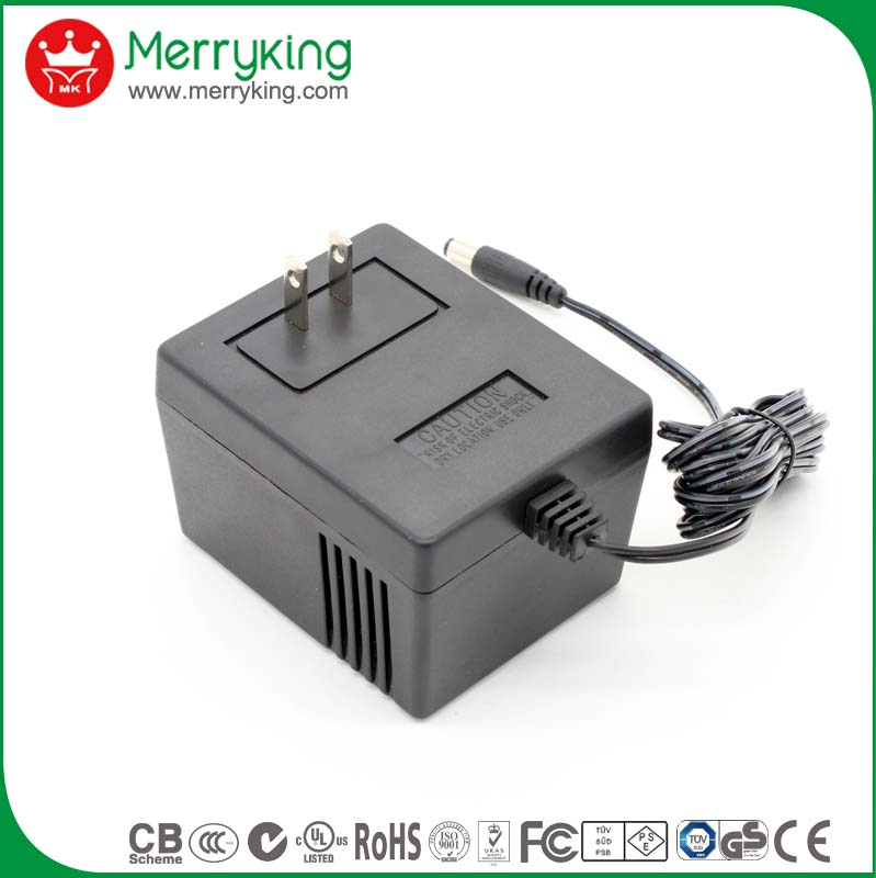 Class 2 24v 400ma 1a 1250ma 1.25a ac to ac linear transformer adaptor pse/ul/cul/fcc approval
