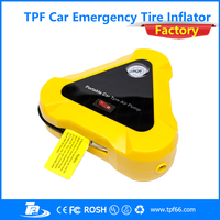 12V tpf multi-function car emergency tire inflator for vehicles tires with accurate gauge