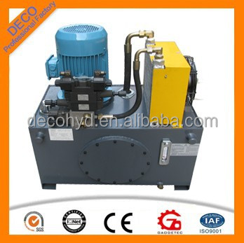 compact hydraulic station