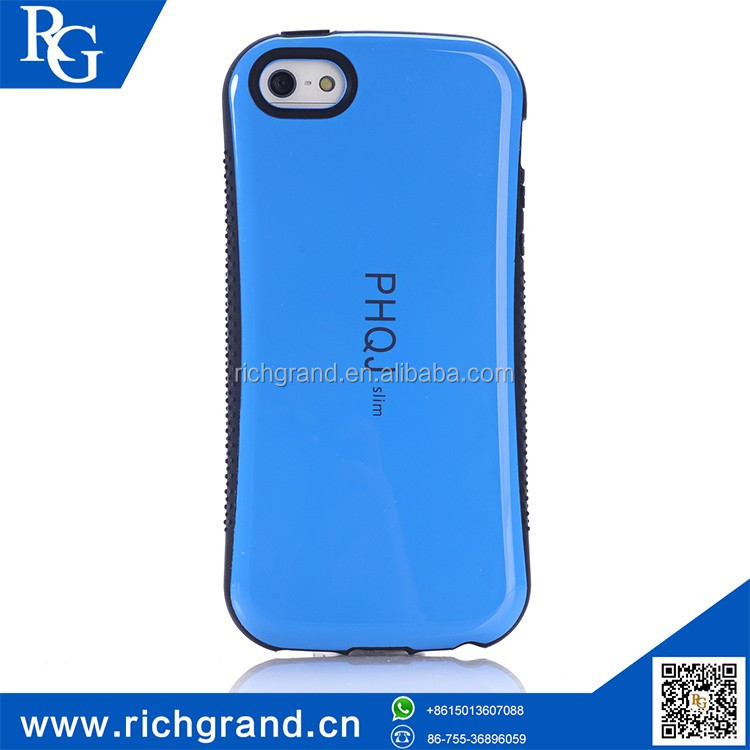 Wholesale low price high quality mobile phone silicone bumper case for iphone5s