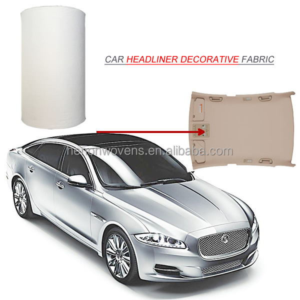 decorative car headliner fabric / car ceiling fabric