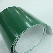 Industrial Automatic Equipment green incline PVC Conveyor Belt