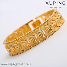xuping imitation dubai gold jewelry 24k gold bracelet bangle for women