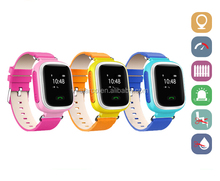 Wrist Kids GPS Tracker Watch Quad Bands GSM Gprs Surveillance Tracking SOS