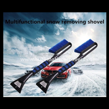 Soft PP Bristle Snow Brush For Car Cleaning With Ice Shovel