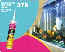 Acetic 378 Big Glass Fish Tank silicone sealant adhesive