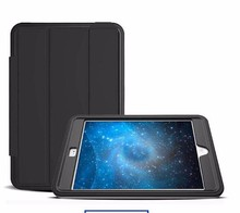 OEM New Design 3in1 Shockproof Protective TPU + PU Leather Case w/ Stand for IPADs