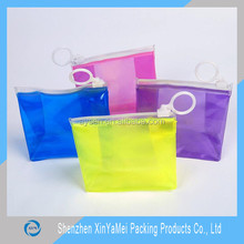 Plastic,PVC Material and PVC Plastic Type leather hanging toiletry bag