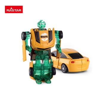 Rastar wholesale christmas promotion 1:64 mini transform robot car toy