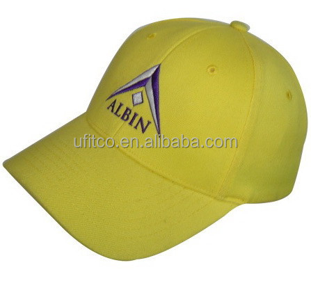 high quality stretch cotton twill 6 panel fitted caps for promotion