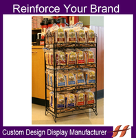 OEM Accepted!!! Metal Wire Merchandise Display Racks and Stands