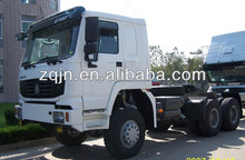 2015 Hot Sale Sinotruk China HOWO 10 wheels All Drive 6x6 Tractor Trailer Truck/Tractor Truck Low Price Sale Trailer Head