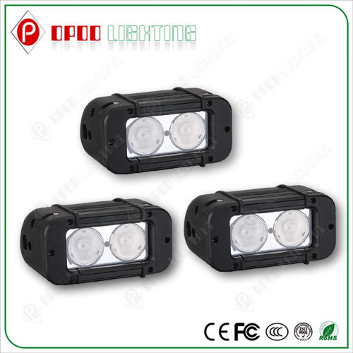 Bicycle Bar 9-70v 6000K 1800LM 4.6 Inch 10w CREE 20W LED Ambulance Light Bar