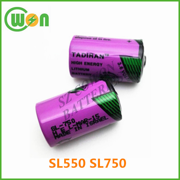 for tadiran 3.6v lithium battery ER14250 SL750 SL550 battery 1200mAh