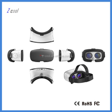 3D VR Glasses, 3D VR Headset Virtual Reality Box with Adjustable Lens and Strap for smartphone