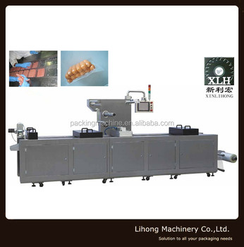Factory Price Automatic vacuum Thermoforming Packing Machine for food