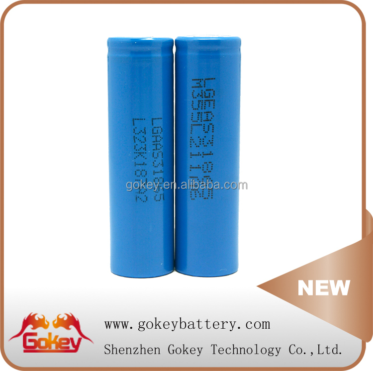 LGEAS31865 Lithium-ion batteries 2200mah high quality rechargeable li ion battery 18650 3.7v 2200mah