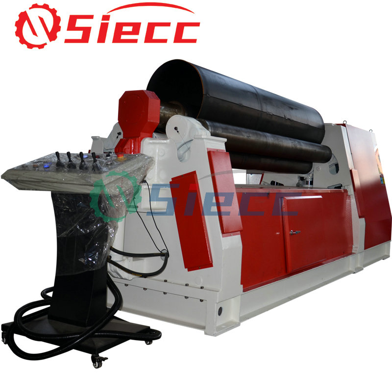 METAL SHEET HYDRAULIC PLATE ROLLING MACHINE 4 ROLLER BENDING ROLL MACHINE