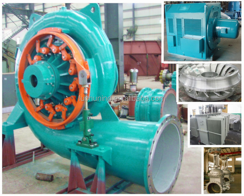 Waterturbine / Hydro turbine/ Power plant / EPC project