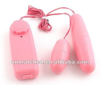 Adult sexual health products female masturbation ,double vibrating egg sex toys