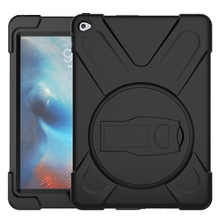 OEM professional manufacturer protective rugged hybrid armor back cover tablet case for child for ipad air2 inch