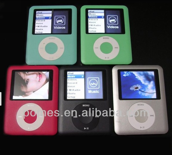 2013 new hot sale Mp4 8gb Gen. Chip Fm Videos Fotos Mp3