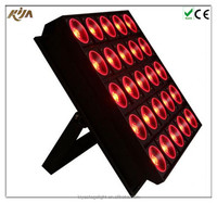 Economic Promotional Cheap 25*30w Rgbw 4in1 Led Matrix Light for stage in sale