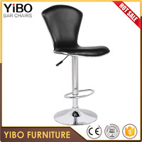 commercial used adjustable comfortable counter high bar stool swivel kitchen office furniture