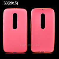 Wholesale mobile phone accessory soft tpu gel case cover for moto g 3rd gen 2015 xt1540