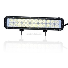 "US imported chip 72W 7.5"" combo off road light bar,used for 4x4 cars,SUV,ATV,4WD,Jeep,truck,used emergency light bars"