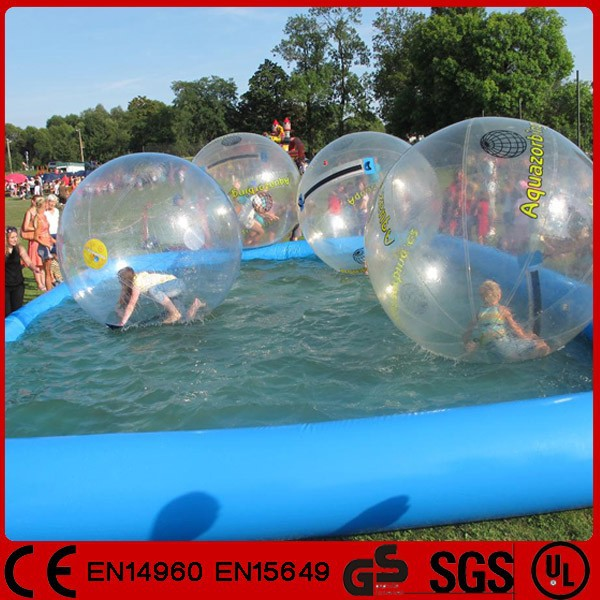 Inflatable Water Walking Ball In Swimming Pool Buy Water Walking Ball Walk On Water Ball