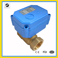 TF-CWX-15Q/N Electrical valve Motorized ball valve actuator for auto control system