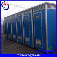 Safe and solid easy assemble 15 year lifetime cheap price Toilet container WC Mobile booth