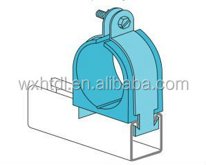 cushion clamps for rigid steel conduit/tube