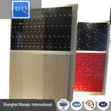 PETG laminated glossy anti-acid uv film mdf board for kitchen cabinet door