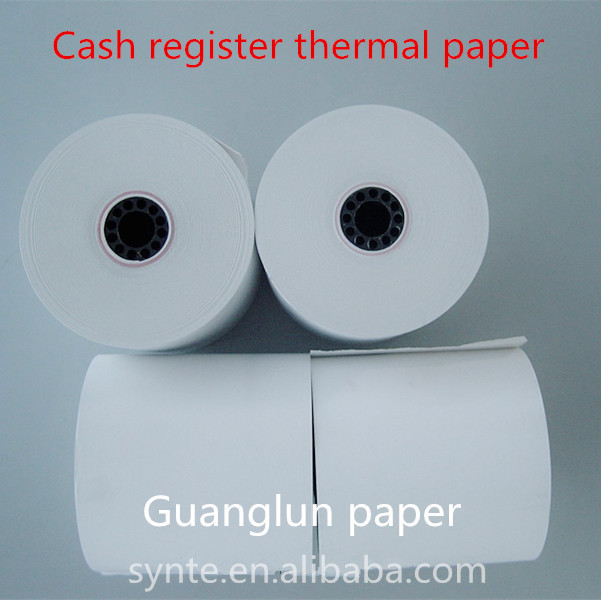 "Turkey Cash Register Paper 2 1/4"" x 50' Thermal Paper, 50 Rolls"