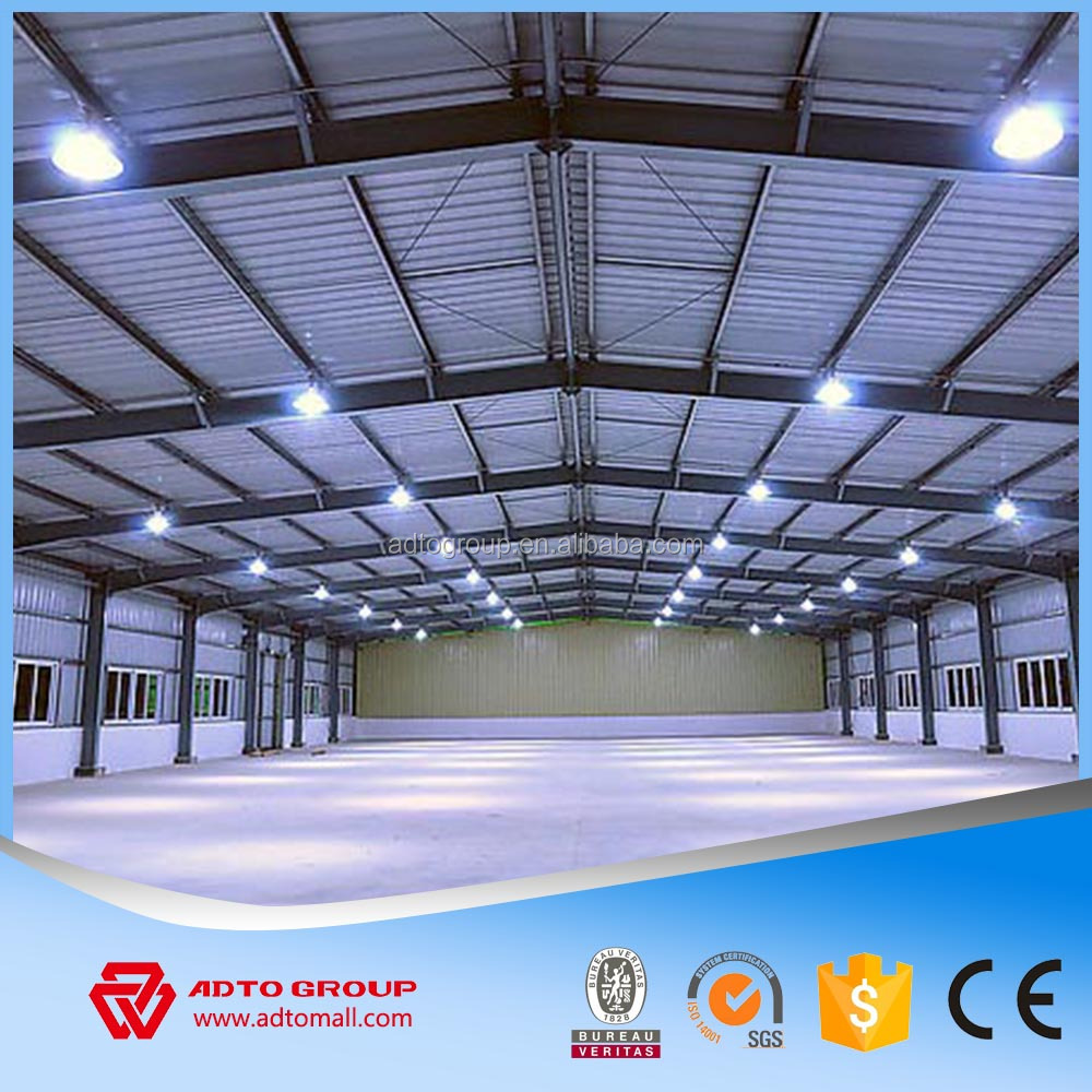 Long-span Structural Steel Warehouse Prefabricated Building Construction Wholesale,high quality steel structure building