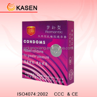 Lily flavor pink condom from Kasen